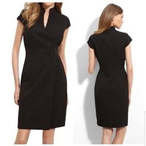 Calvin Klein Brown Wrap Dress